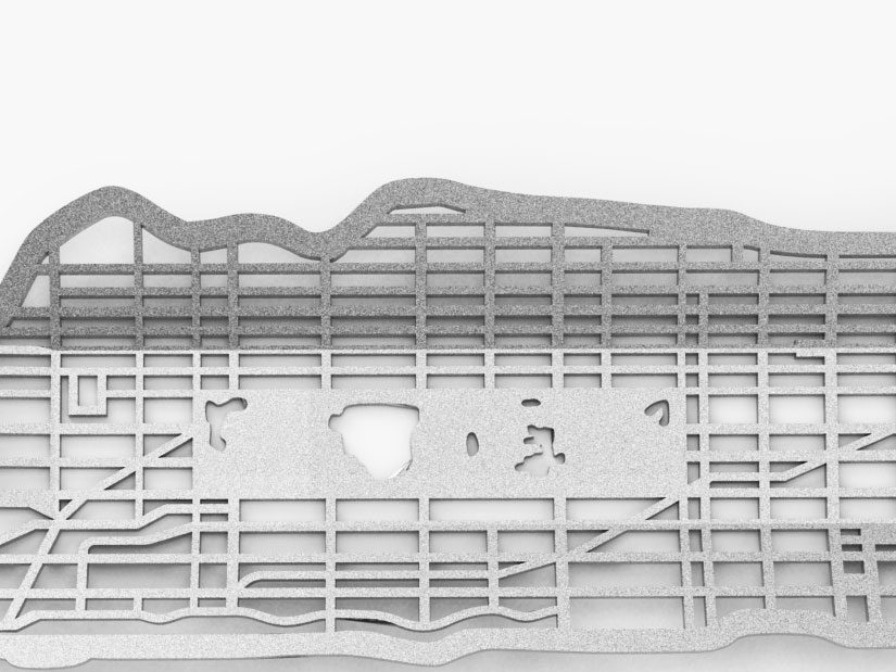 Metrobowl Manhattan detail I – Frederik Roijé