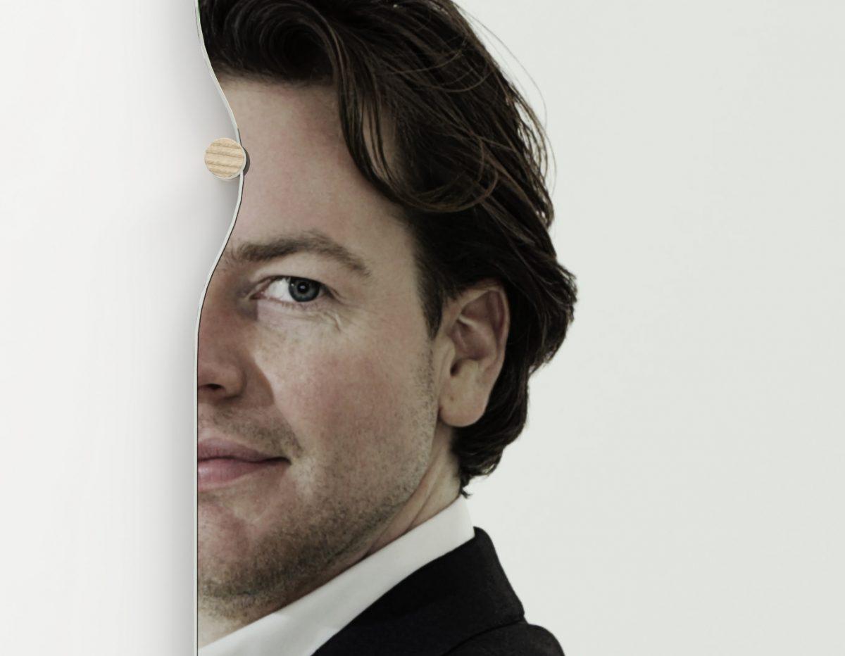 Morphed Mirror zelfportret – Frederik Roijé