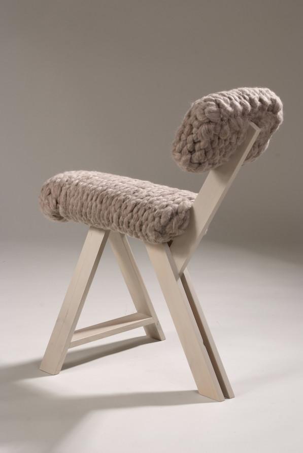 Chair Gray Jolanda van Goor