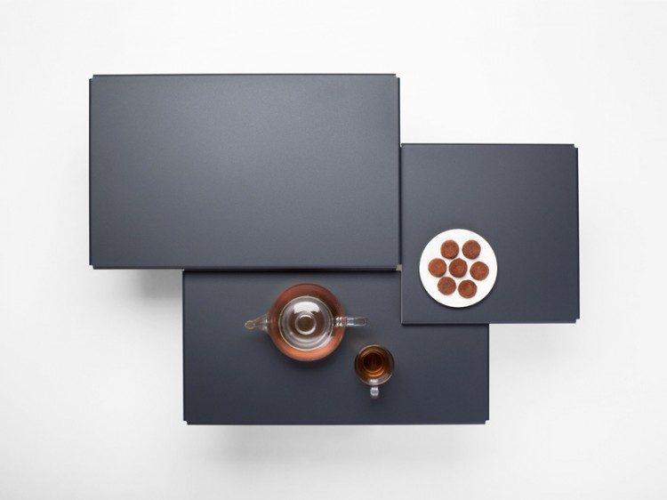 Tablefields koffietafel grijs I Frederik Roijé