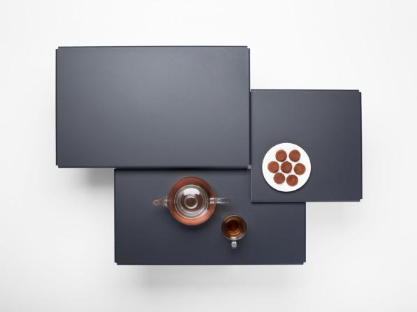 Tablefields salontafel donkergrijs - Frederik Roijé