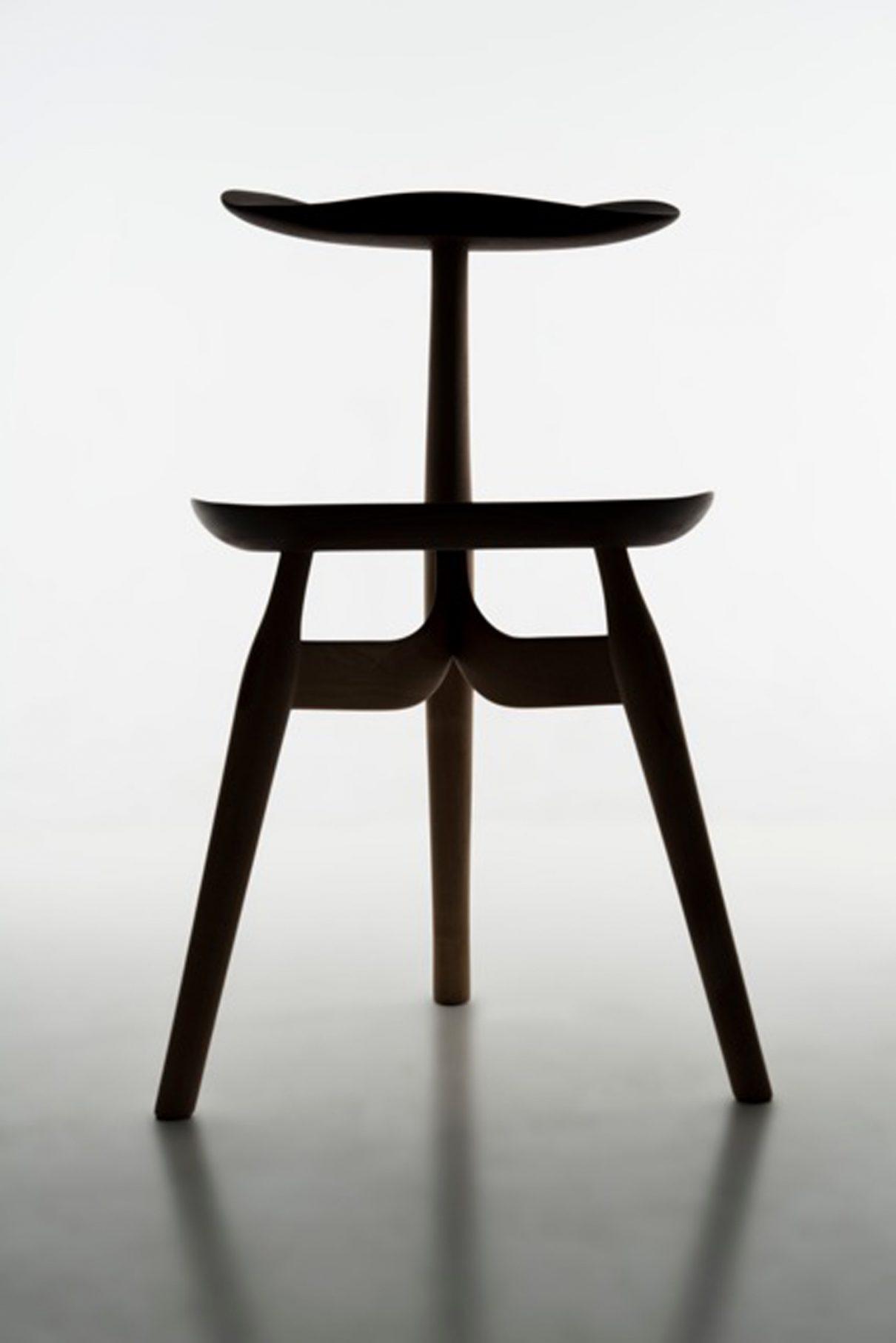 Achteruit-zit-stoel Trialog