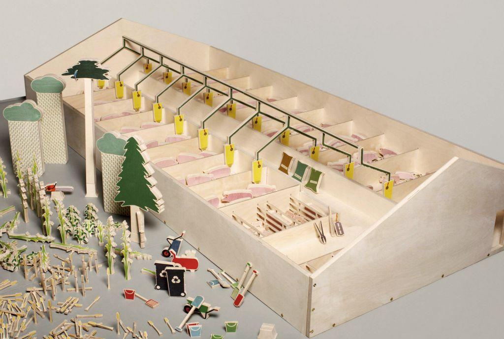 zelf speelgoed boerderij maken