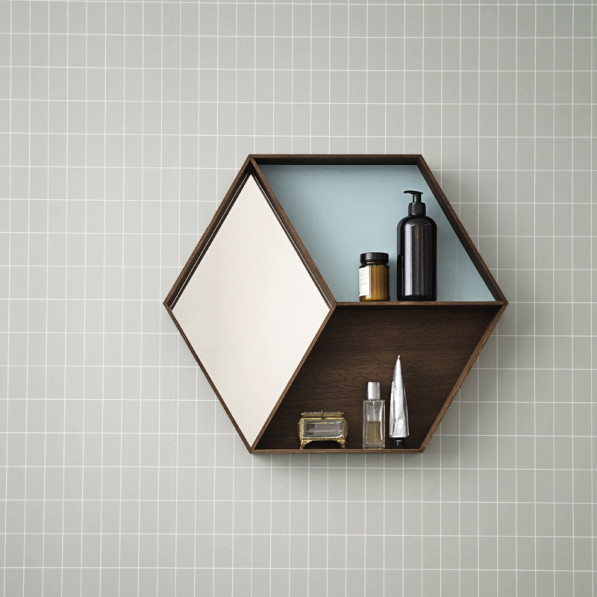 Wall wonder mirror by Ferm Living