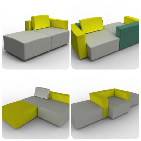 Collage Moduplus design bank