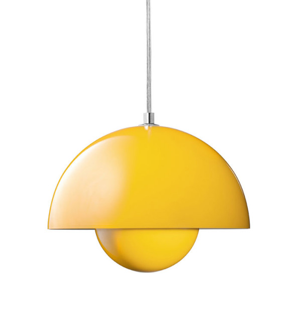 lamp verner panton yellow