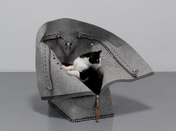 Kattenplezier Travelling cat - Studio Snorhaar