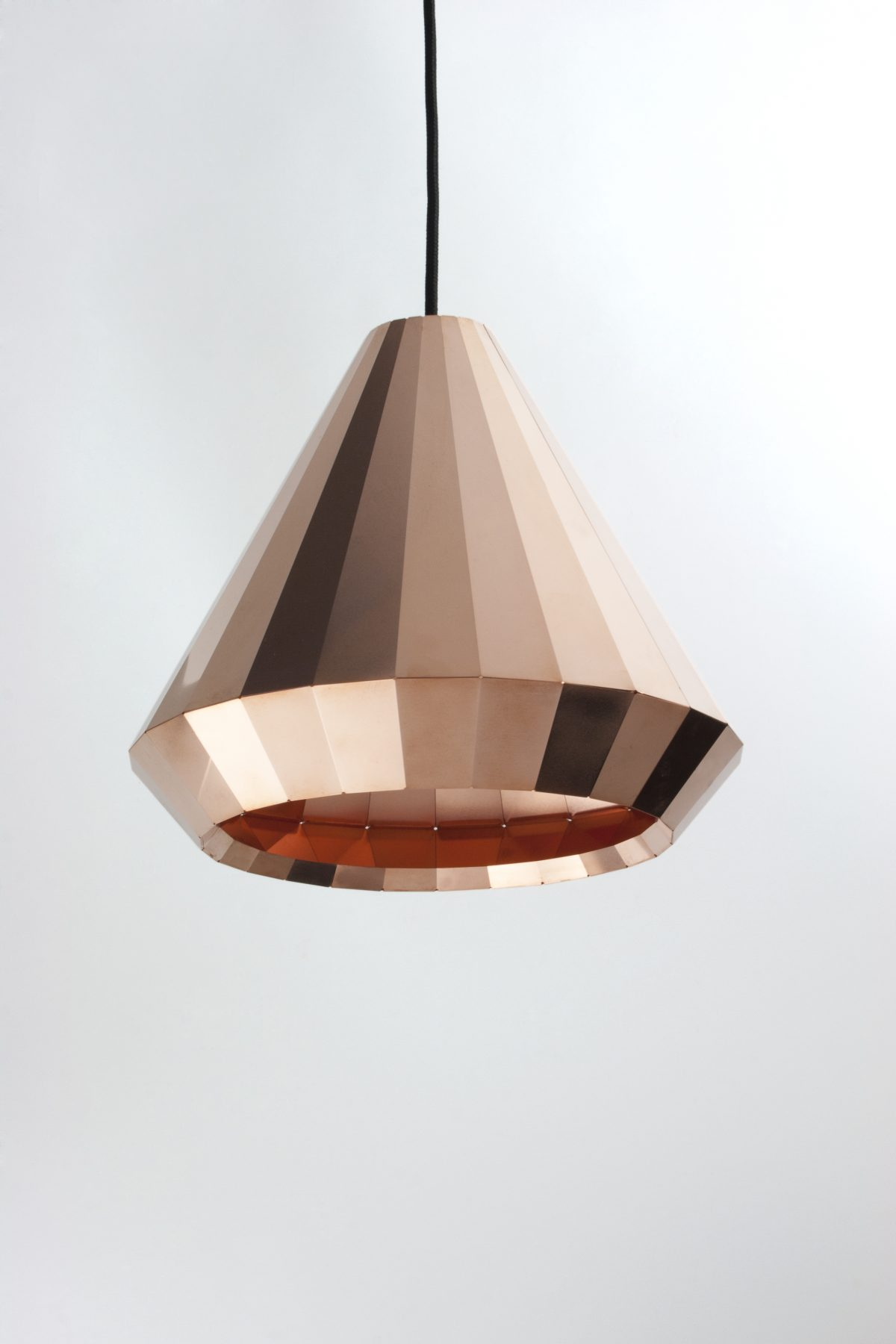 Koperen hanglamp CL-25 – David Derksen Design