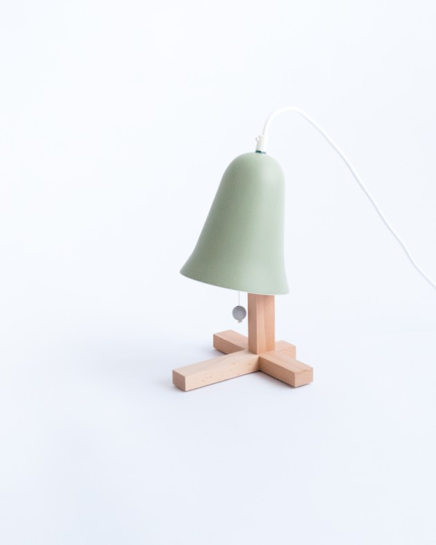 M.OSS design Mush lamp green