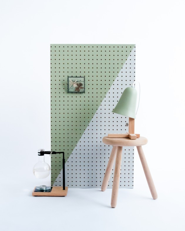 Mush lamp M.OSS Design green setting