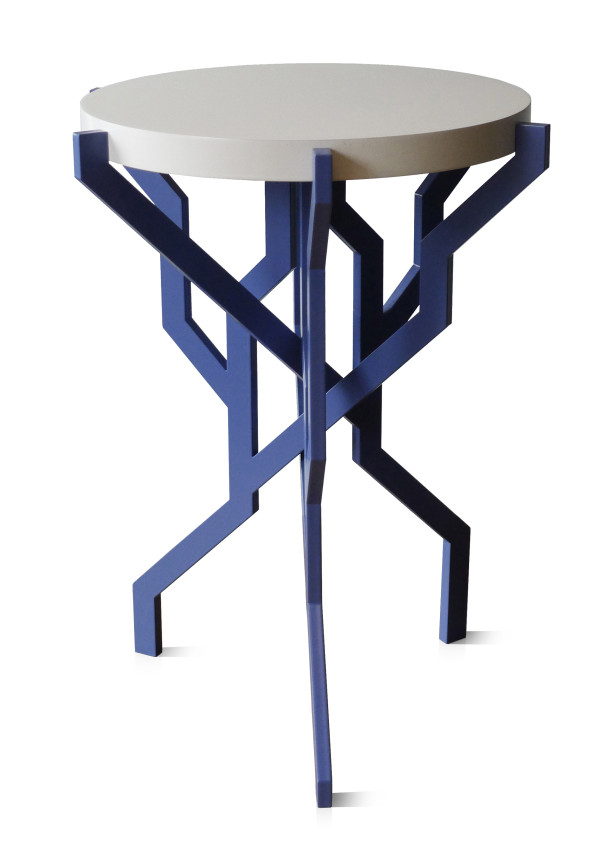 Plant tafel blauw - Kranen/Gille