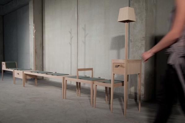 Speelse meubels van Carina van den Bergh