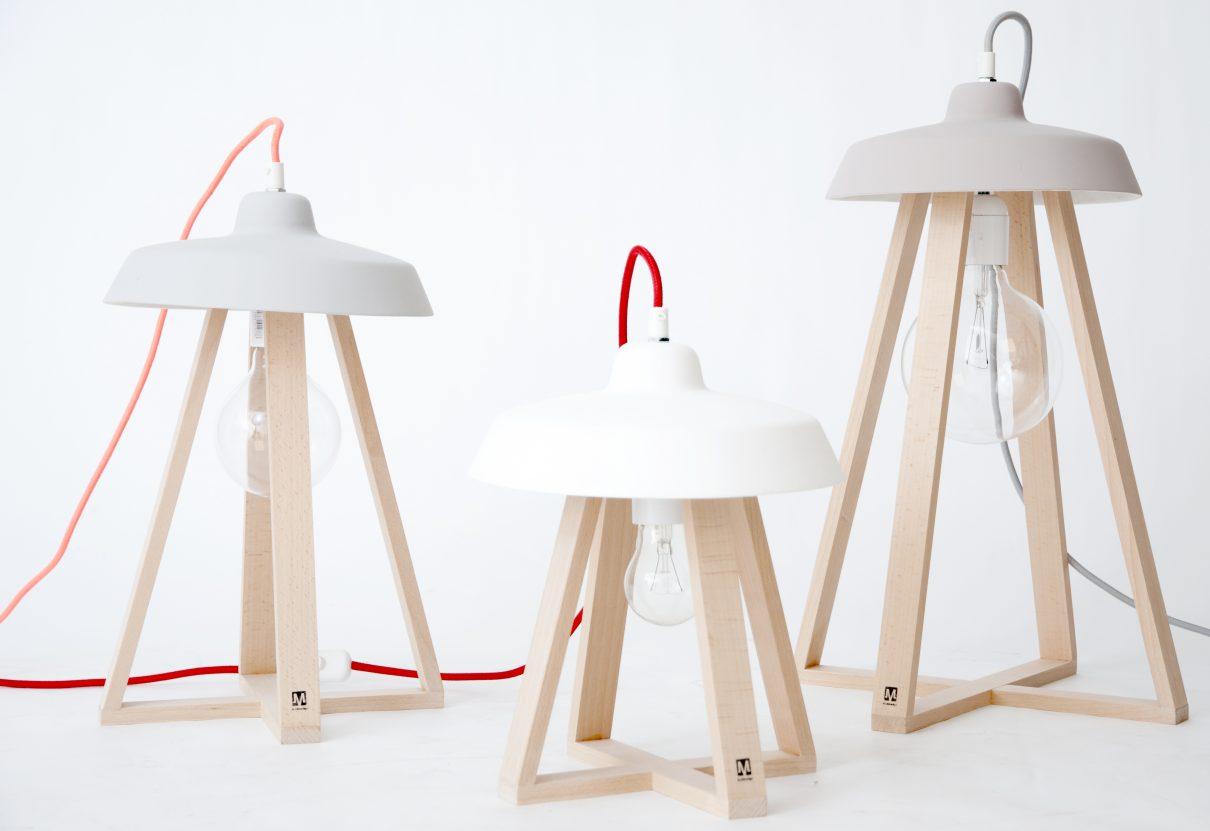 Energieke Sputnik lamp van M.OSS design