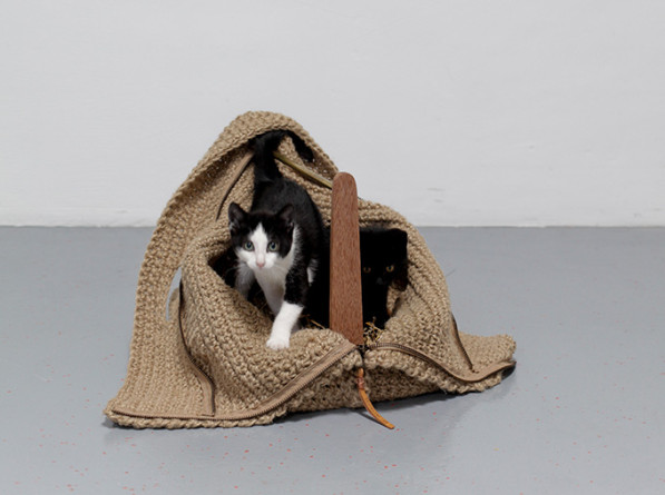 Tas en mand travelling cat - Studio Snorhaar