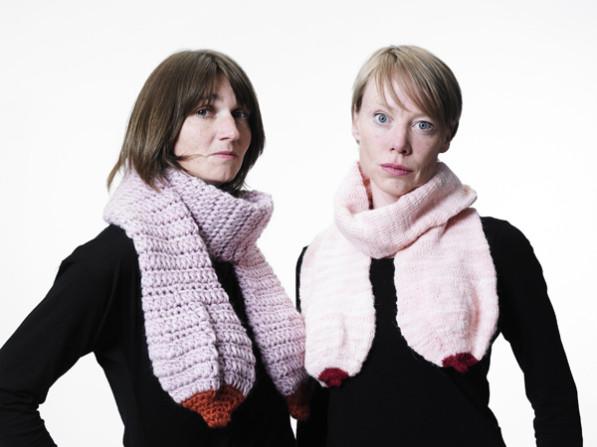Boobs sjaal van Claydies