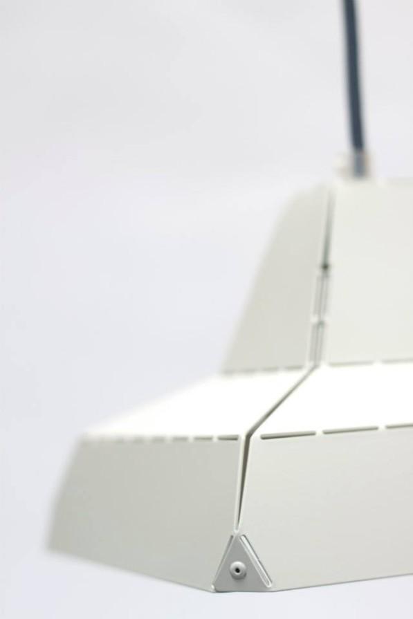 Dashed light hanglamp wit - Vij5