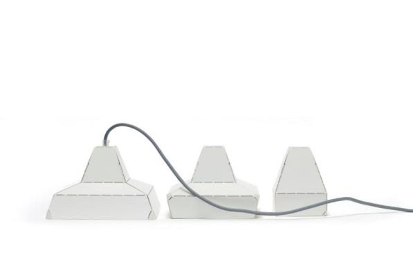 Dashed lights wit - Leon de Lange - Vij5