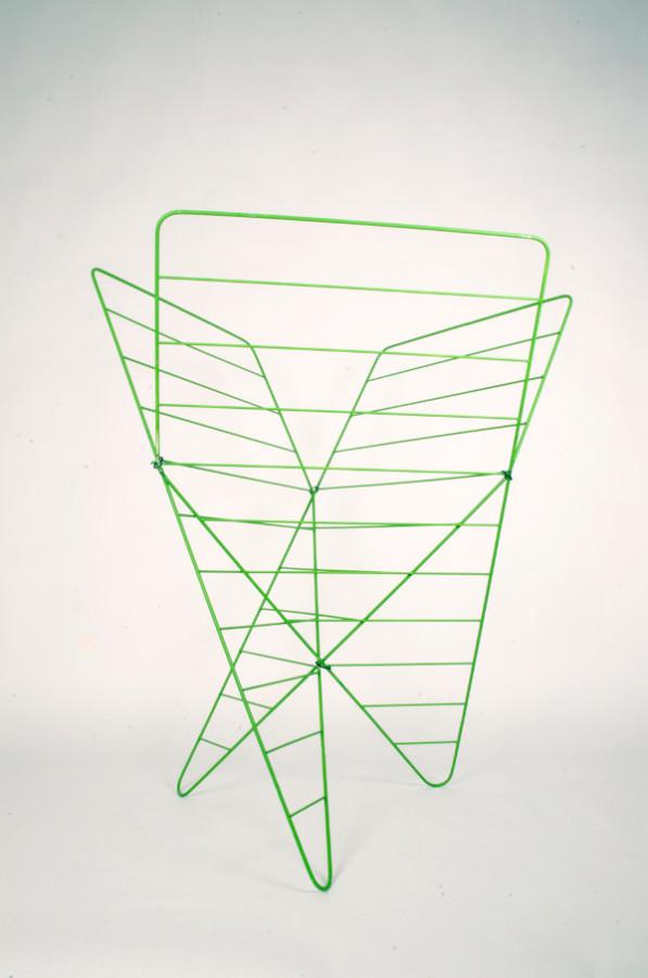 Groen design droogrek