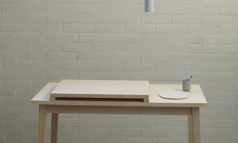 Lamp en Socket boven Little Bamboo tafel - Lotte Douwes