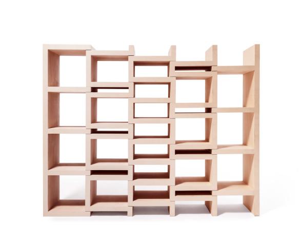 REK uitschuifbare boekenkast - Reinier de Jong
