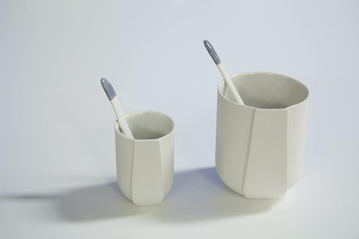 STOKKIES porselein roerstokjes – Lotte Douwes