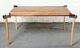 Wood axe table - Duffy London