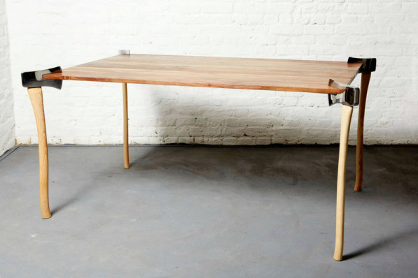 Woodsman Axe table - Duffy London