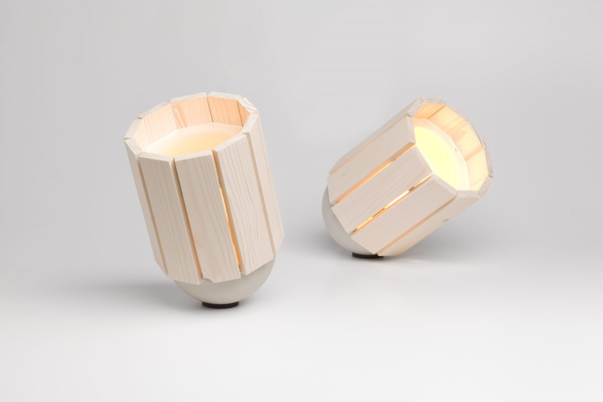 Baby Barrel Lamp