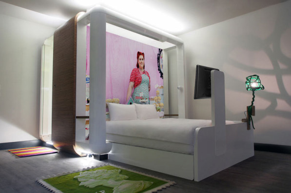 Betaalbaar designhotel qbic hotel londen city van for Qbic london