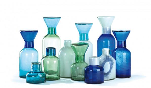 Cantel vazen glas door Van Eijk & Van der Lubbe voor Imperfect Design
