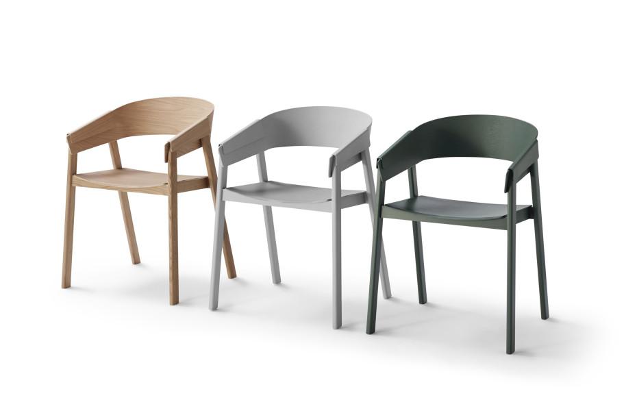 Cover chair van thomas bentzen voor muuto een stoel zonder schroeven - Chair jaarontwerp ...