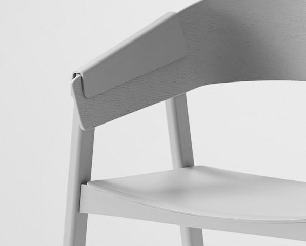 Cover Chair van Thomas Bentzen detail