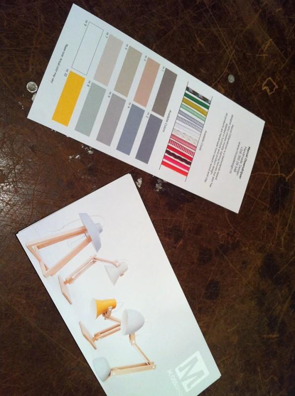 Kleuren kapjes lampen MOSS design
