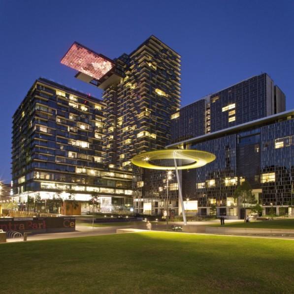 Lichtinstallatie Mirroir de Mer Sydney