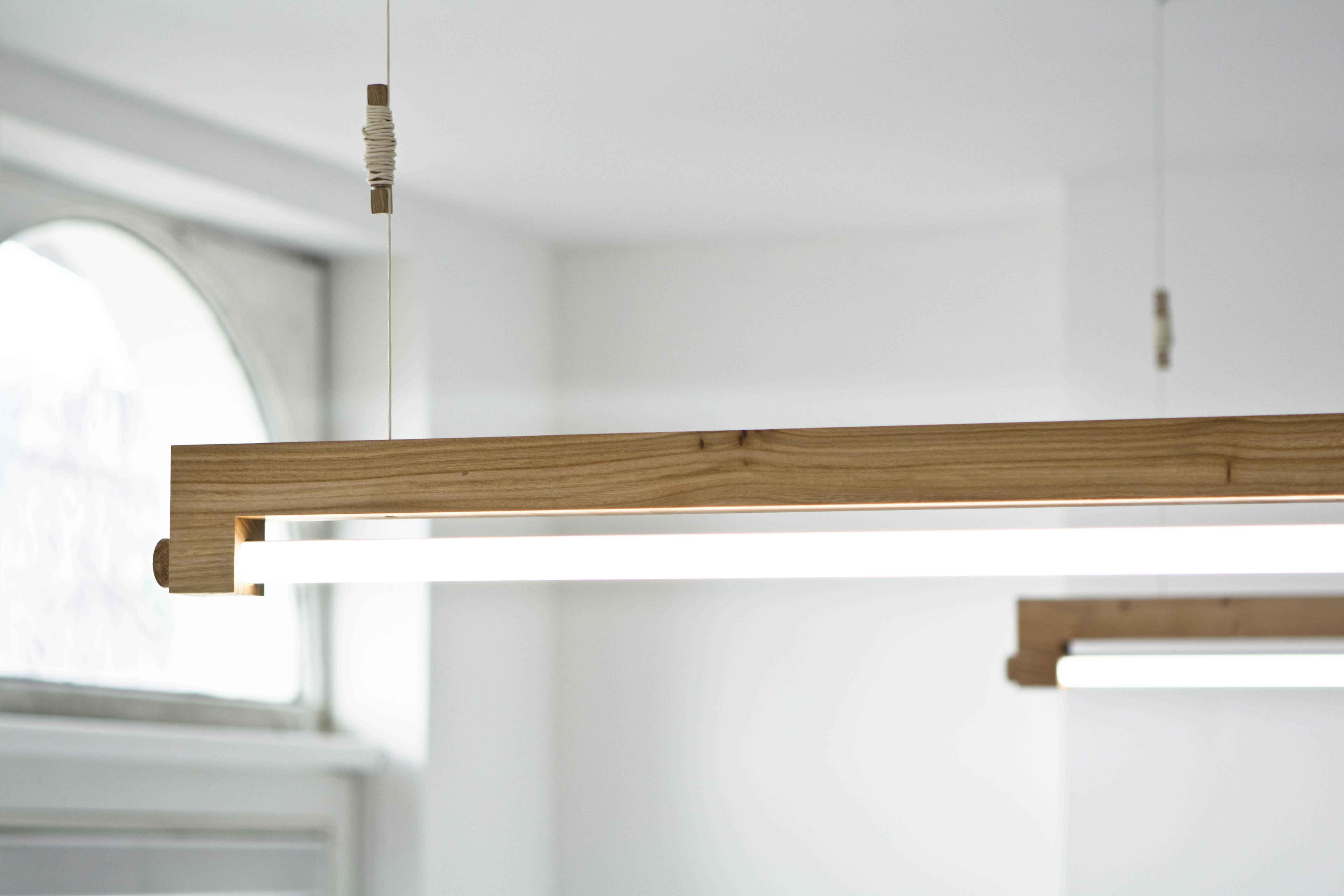 Minimalistische led tl lamp ninebyfour van waarmakers i gimmii shop - Indus badkamer ...