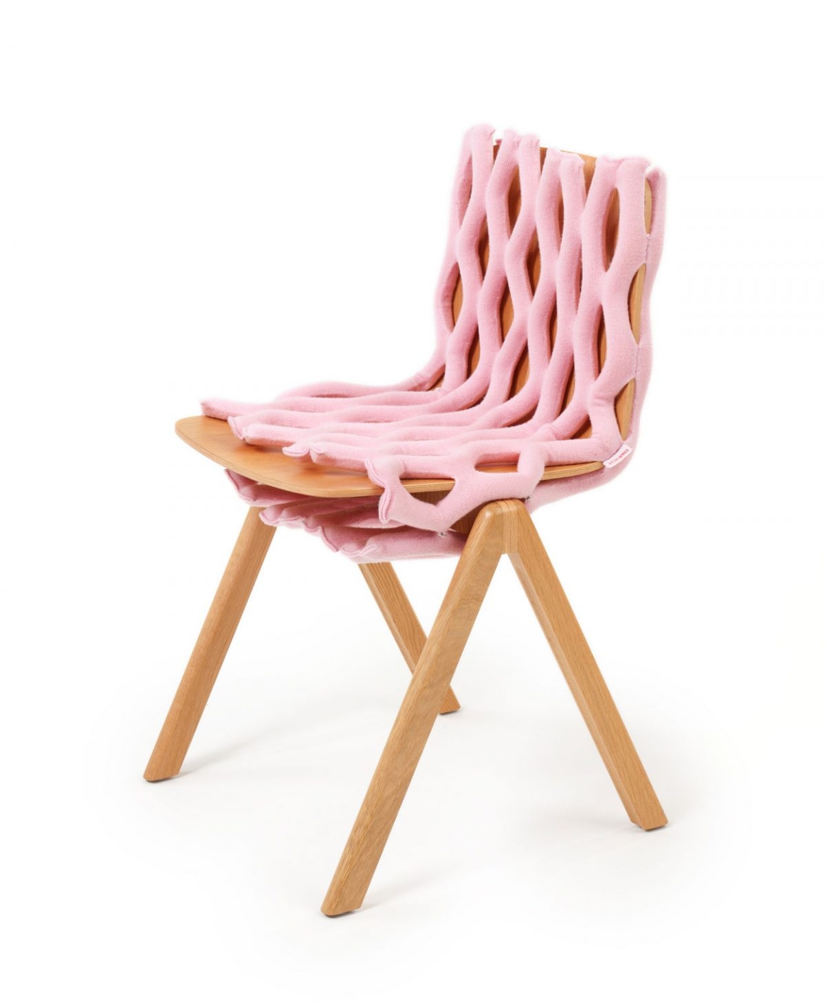 chair-wear-knit-net-roze-zijkant