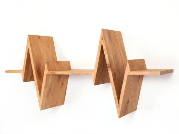 Boekenplank Beat shelf eiken
