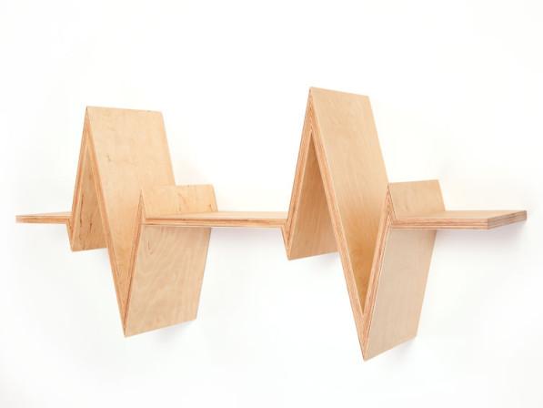 Boekenplank multiplex - Van Tjalle en Jasper