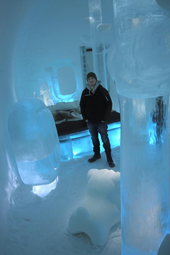 Deluxe suite ICEHOTEL Wouter Biegelaar resultaat