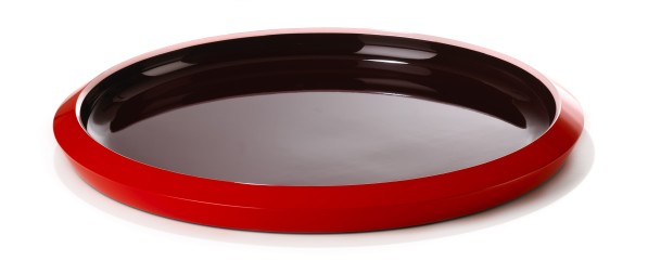 Dienblad lakwerk Saigon Lacquer Medium Cherry tomato