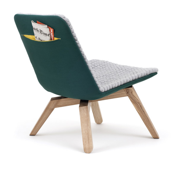 Duurzame Lou lounge chair van Famos