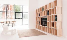 MODULAR boekenkast van Reinier de Jong