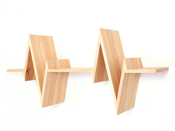 Plank Beat shelf essen Van Tjalle en Jasper