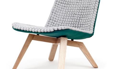 Lou lounge chair van Hanna Litwin en Romin Heide ofwel Famos