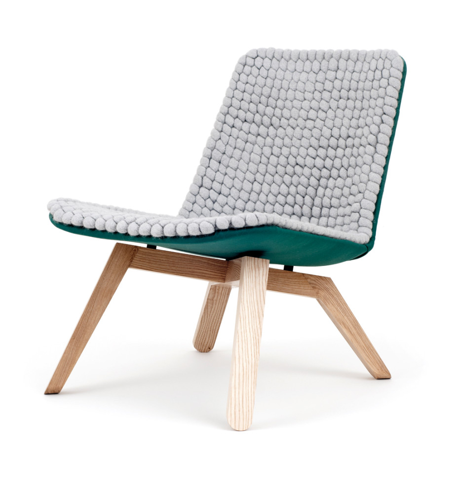 Lou lounge chair van - Comfortabele lounge stoel ...
