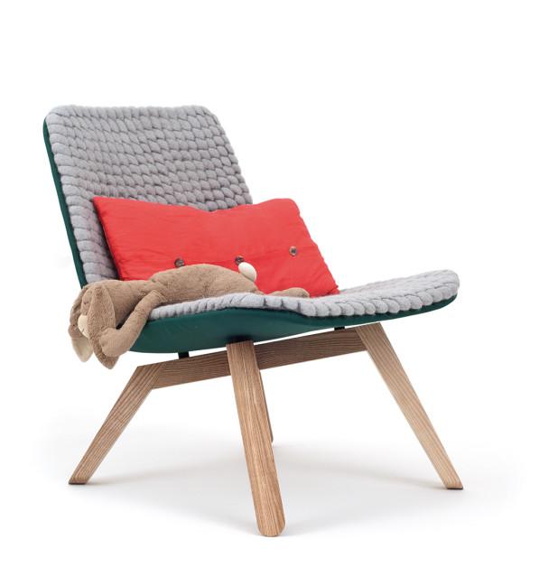 Lou lounge chair Hanna Litwin en Romin Heide
