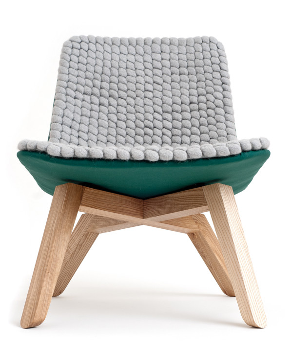 Lou sustainable lounge chair Famos