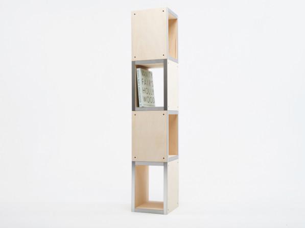 Modulaire boekenkast van Reinier de Jong