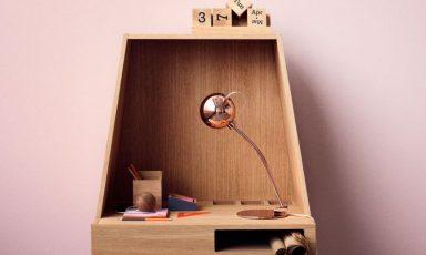 Klein flexibel bureau