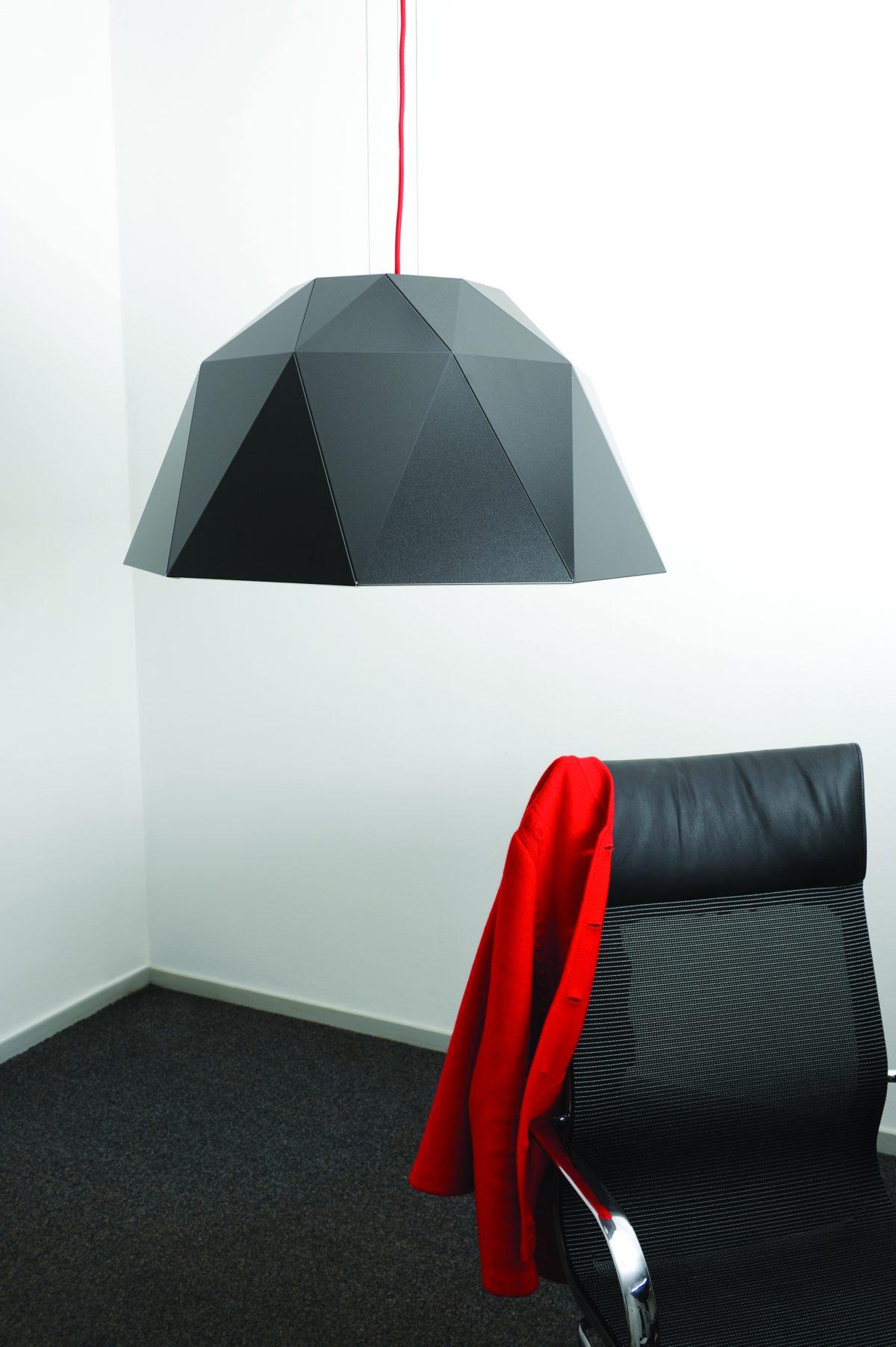 Sander Mulder Carat hanglamp large antraciet